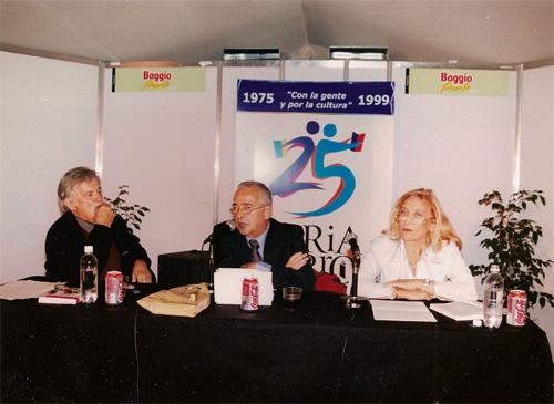 Fernando Ulloa, Hernán Kesselman y Ana Fernandez.