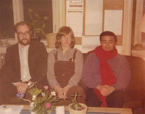 Hernán Kesselman con Siv Andresson el el Goteborg Psikoterapi Institut