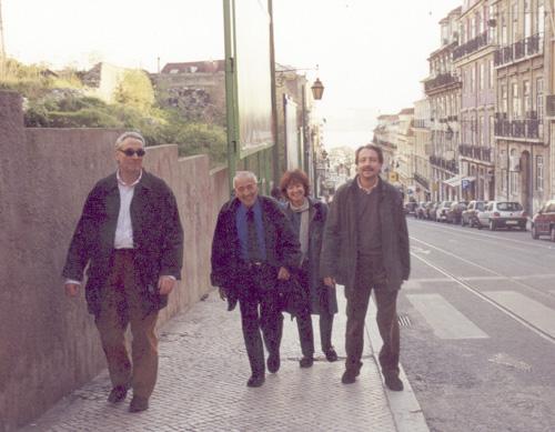Dr. Joaquín Ingelmo, Lic. Susana Kesselman, Dr. Hernán Kesselman y Dr. Alfonso García-Ordás.