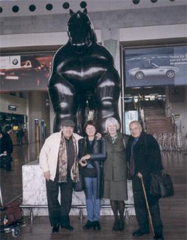 Dr. Juan Campos, Dra. Hanne Campos, Lic. Susana Kesselman y Dr. Hernán Kesselman.